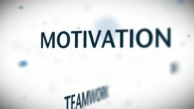 Bussiness Words Blue - motion graphic
