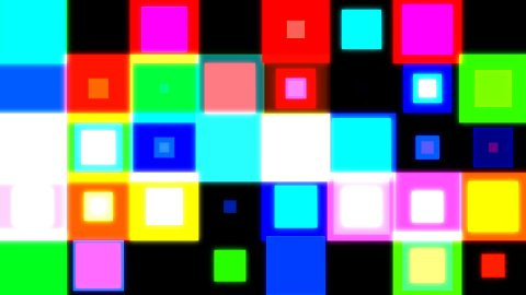 discosquares3 HD - stock footage