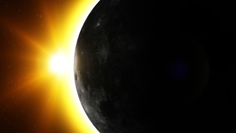 Eclipse - stock footage
