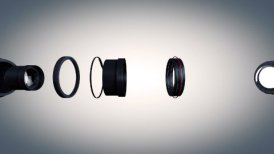 Lens Side View - motion graphic