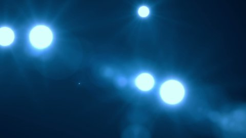 Flashes Blue - stock footage
