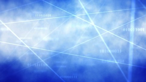Cloud Comping Texty - stock footage