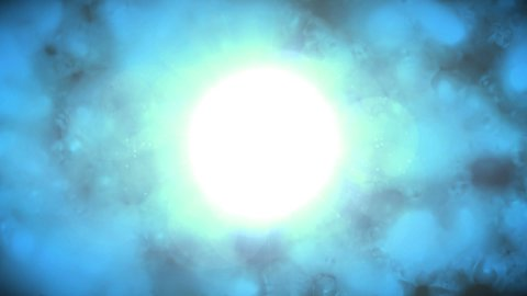 Bright Blue - stock footage