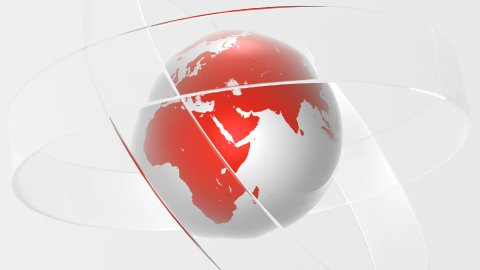 Glass World Red - stock footage