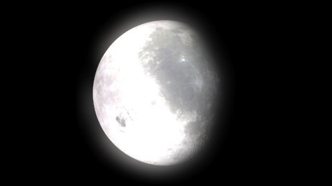 Moon Phases - stock footage