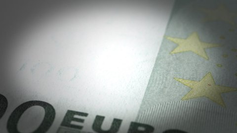Euro Close-up - stock footage