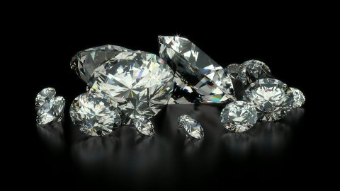 Diamonds - stock footage