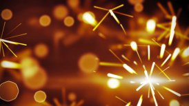 christmas sparkler closeup loop background - motion graphic
