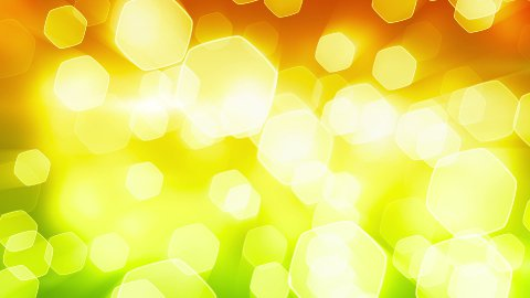 orange green shining bokeh lights loop - stock footage