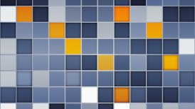 blue orange tiles loopable backgrounds - motion graphic