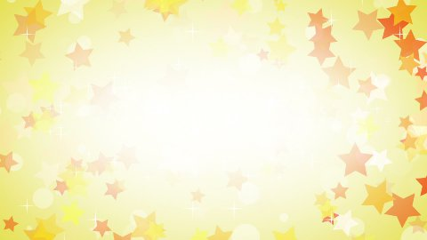 yellow stars frame loop background - stock footage