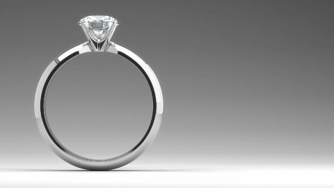 Diamond Ring - stock footage
