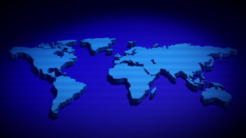 Global Network - stock footage