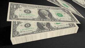 Dollar bills count 01 - motion graphic