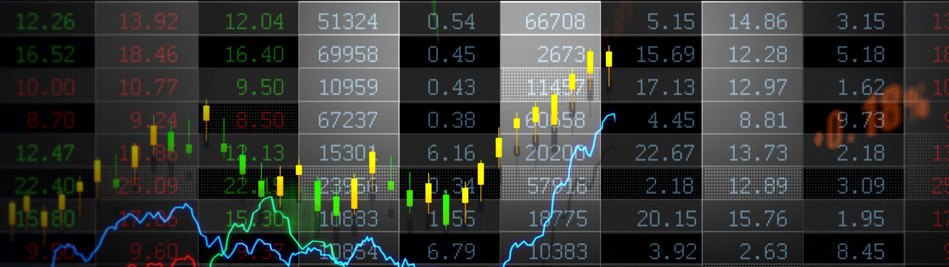 Stock Market_075 | Stock market trend of animation. Seamless loop. HD1080. - ID:17105