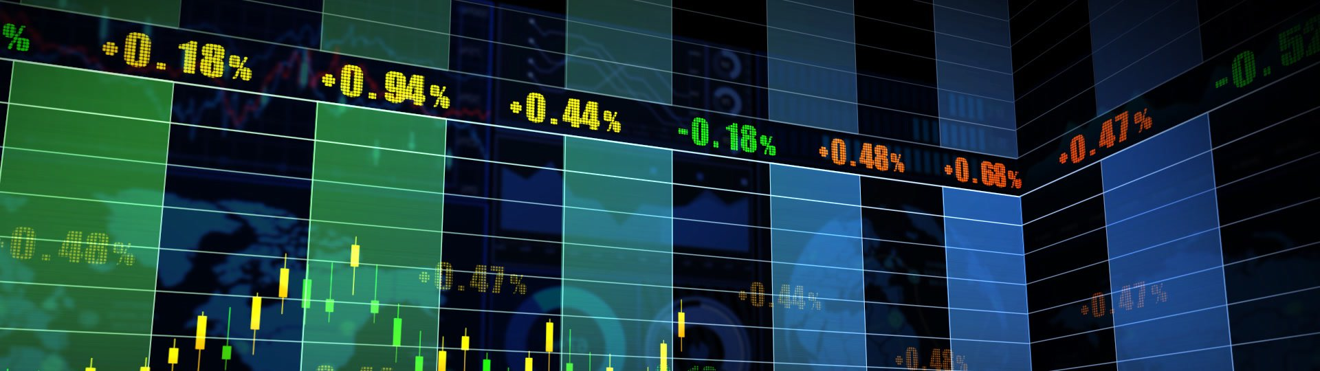 Stock Market_067 | Stock market trend of animation. Seamless loop. HD1080. - ID:17107