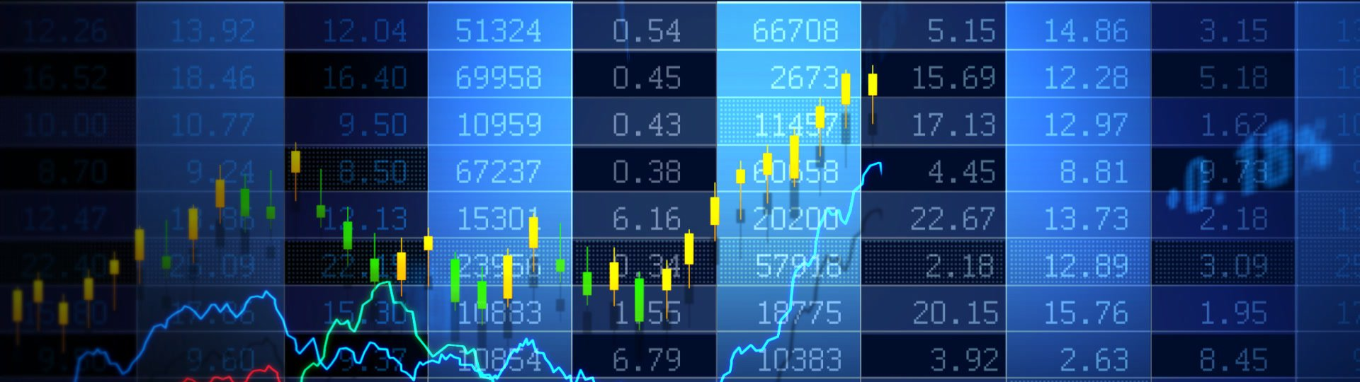 Stock Market_073 | Stock market trend of animation. Seamless loop. HD1080. - ID:17113