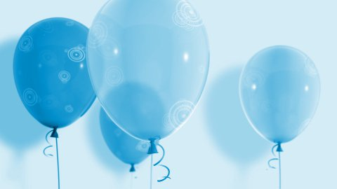 Balloons_035 - stock footage