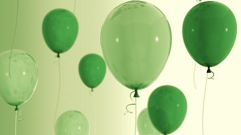 Balloons_036 - stock footage