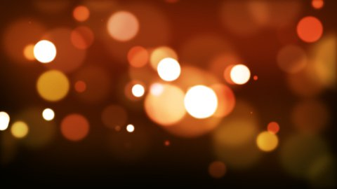 Red defocused Particles_025 - stock footage