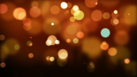 Red defocused Particles_026 - stock footage