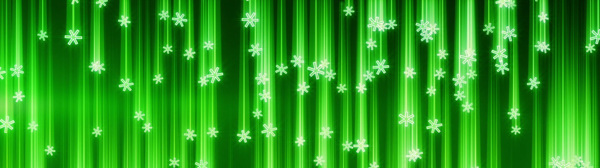 Techno green snowfall seamless loop | techno green snowfall. computer generated seamless loop abstract motion background. HD 1080p  - ID:17259