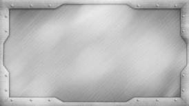 metal title plate loopable background