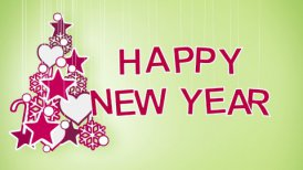 happy new year greeting loop
