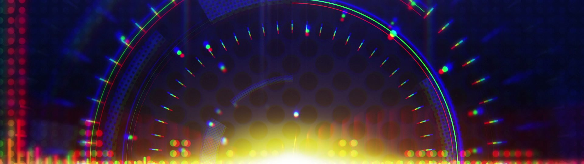 Sine waves orange blue technology loop background | orange sine waves on blue. computer generated seamless loop abstract technology motion background. HD 1080p  - ID:17288