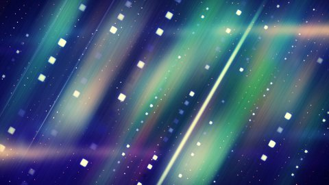 shiny blue stripes loopable background  - stock footage