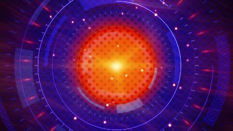 abstract techno energy loopable background  - stock footage