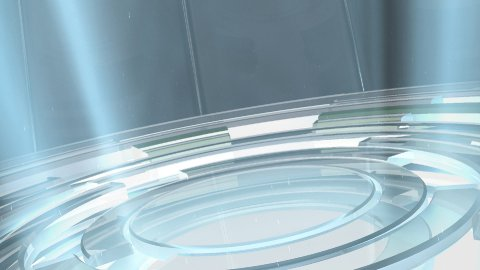 Rotating Glass Floor - stock footage