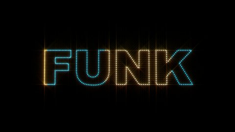 LEDS Funk 01 - stock footage