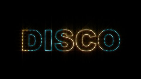 Disco LEDS 01 - stock footage