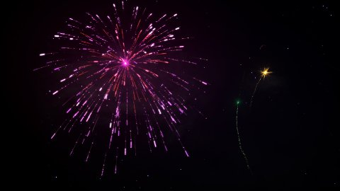 Fireworks 92 - stock footage