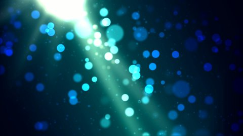 Particle Background - Loop - stock footage