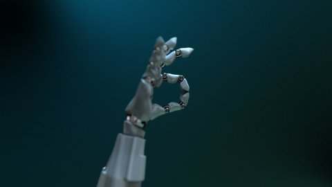 """Gesture """"OK"""" (diving related) - stock footage"""