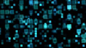 Glowing Squares Background - Loop - motion graphic