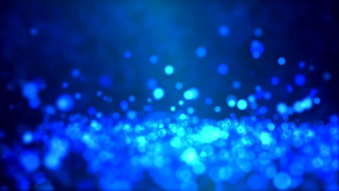Particle Background - Loop Blue - stock footage