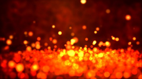Particle Background - Loop Fiery - stock footage