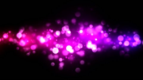 Abstract Particle Background - Loop Purple - stock footage