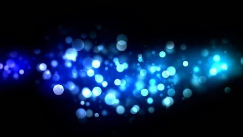 Abstract Particle Background - Loop Blue - stock footage