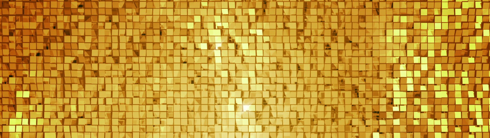 Golden square blocks background animation. Seamless loop. | Golden square blocks background animation. Seamless loop. - ID:18303