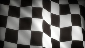 Checkered Flag - motion graphic