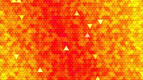 Colorful Triangle Background Animation Red - stock footage