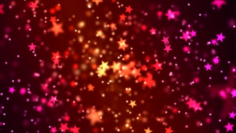 Star Particle Background Animation - Loop - stock footage