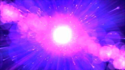 Abstract Particle Light Animation - stock footage