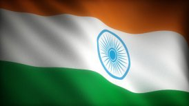 Flag of India - motion graphic