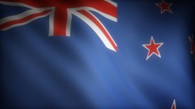 Flag of New Zealand - motion graphic