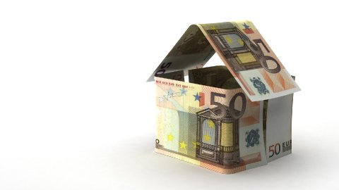 Real Estate Finance (Euro) - stock footage